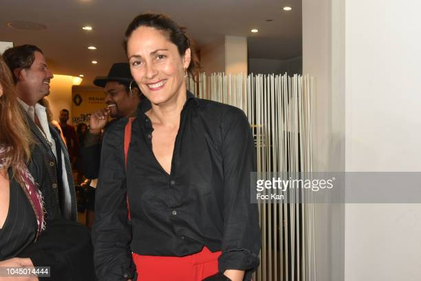 Delphine Malachard de Turckheim attends the Christophe Guillarme show as part of the Paris Fashion Week Womenswear Spring/Summer 2019 on October 2...