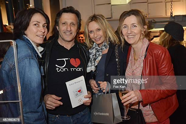 Delphine Malachard de Turckheim Michel La Rosa Valerie Steffen and Sylvie Bourgeois Hare attend the 'J'aime Ton Mari' Sylvie Bourgeois Harel Book...