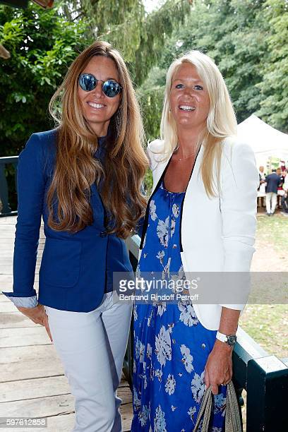 Delphine MarangAlexandre and Alice Bertheaume attend 21th 'la Foret des Livres' Book Fair at ChanceauxpresLoches on August 28 2016 in Loches France