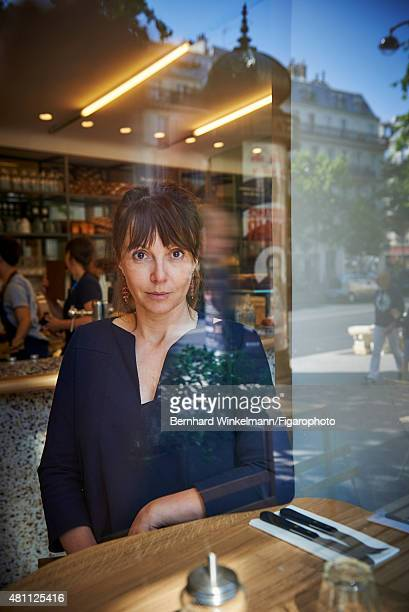 Delphine Plisson the owner of Maison Plisson is photographed for Madame Figaro on June 9, 2015 in Paris, France. CREDIT MUST READ: Bernhard...