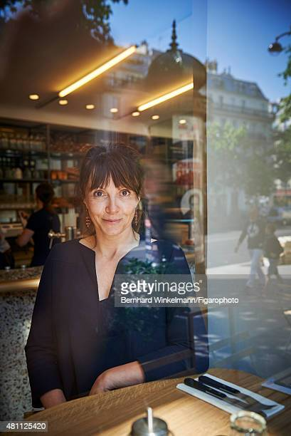 Delphine Plisson the owner of Maison Plisson is photographed for Madame Figaro on June 9, 2015 in Paris, France. PUBLISHED IMAGE. CREDIT MUST READ:...