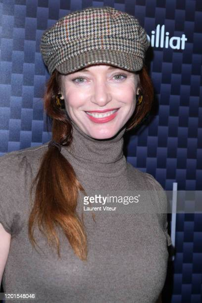 Delphine Rollin attends VeRsus an exhibition by Nicolas Bary at Cinema des Cineastes on January 23 2020 in Paris France