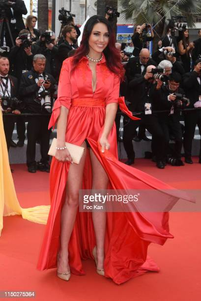 Delphine Weispiser dressed by Christophe Guillarme attend the screening of Les Plus Belles Annees D'Une Vie during the 72nd annual Cannes Film...