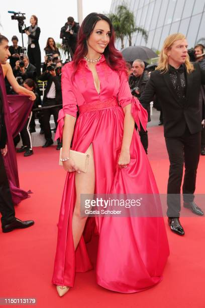 Delphine Wespiser attends the screening of Les Plus Belles Annees D'Une Vie during the 72nd annual Cannes Film Festival on May 18 2019 in Cannes...