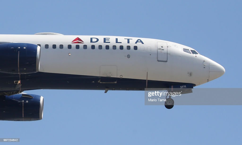 Delta Airlines To Cut Flights And Raise Fares As Fuel Costs Surge : News Photo