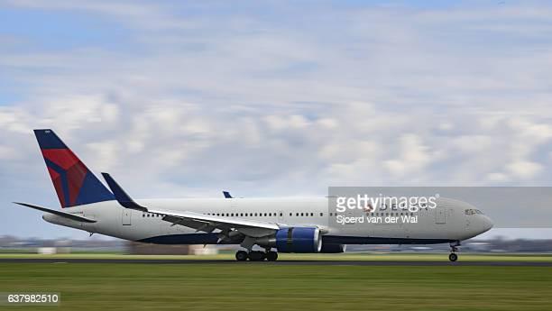 Delta Compagnies aériennes Boeing 767 Avion atterrissant