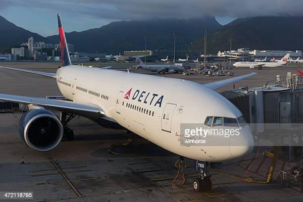 Delta Airlines Boeing 777