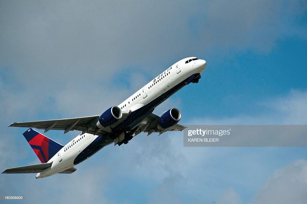 US-TRANSPORTATION-AVIATION-DELTA : News Photo