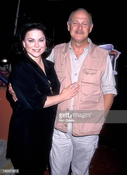 Delta Burke and Gerald McRaney at the NBC Summer TCA Press Tour Jillian's HiLife Lanes Universal City
