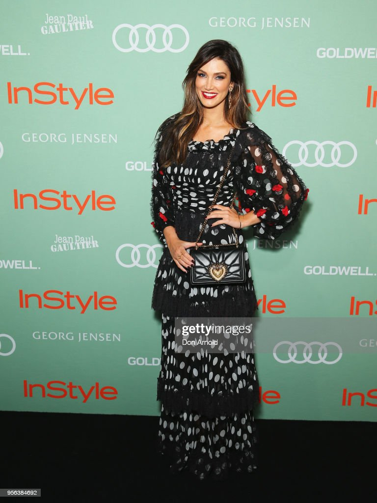 Delta Goodrem arrives ahead of the Women of Style Awards at Museum of Contemporary Art on May 9, 2018 in Sydney, Australia.