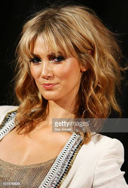 Delta Goodrem arrives at the premiere of 'Get Him To The Greek' at Event Cinemas George Street on June 11 2010 in Sydney Australia