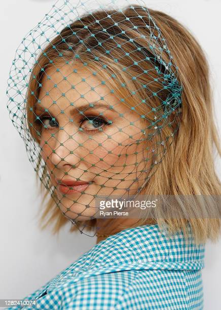 Delta Goodrem attends the 2020 Melbourne Cup Carnival Sydney Launch at Vaucluse House on October 27 2020 in Sydney Australia