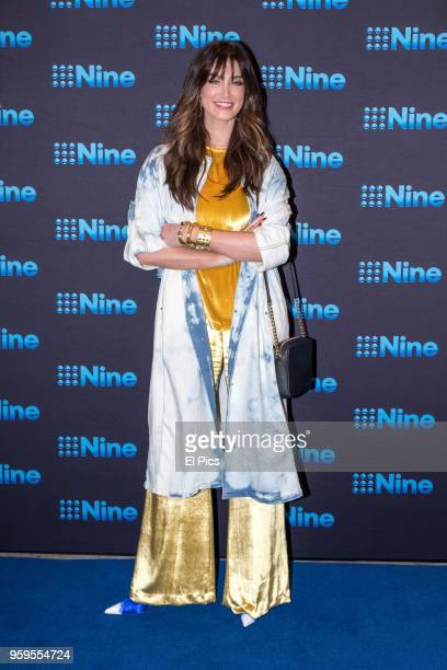 Delta Goodrem attends the Nine All Stars Event on May 16 2018 in Sydney Australia