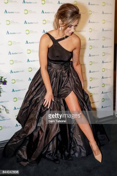 Delta Goodrem attends the Olivia NewtonJohn Gala Red Carpet at Crown Palladium on September 8 2017 in Melbourne Australia