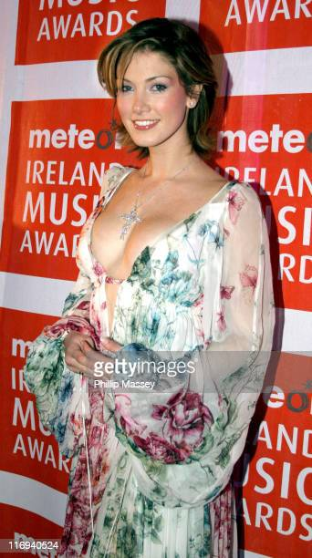 Delta Goodrem during 2005 Meteor Music Awards at Point Theatre in Dublin Ireland