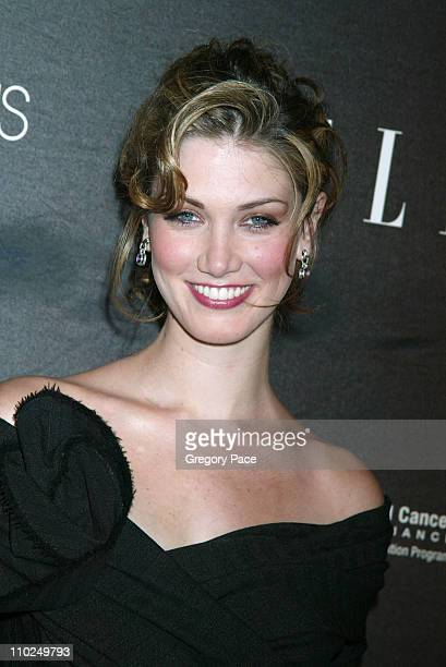 Delta Goodrem during ELLE Magazine's 21st Birthday VIP Bash Benefiting EIF's National Colorectal Cancer Research Outside Arrivals at Bloomingdale's...