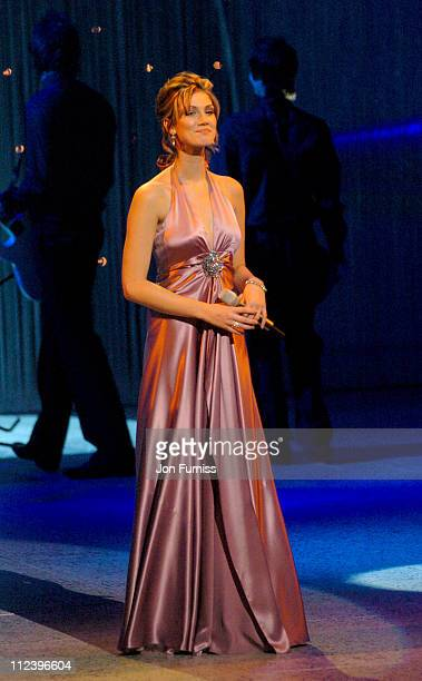 Delta Goodrem during The Royal Variety Concert Inside and Show at The Coliseum in London Great Britain