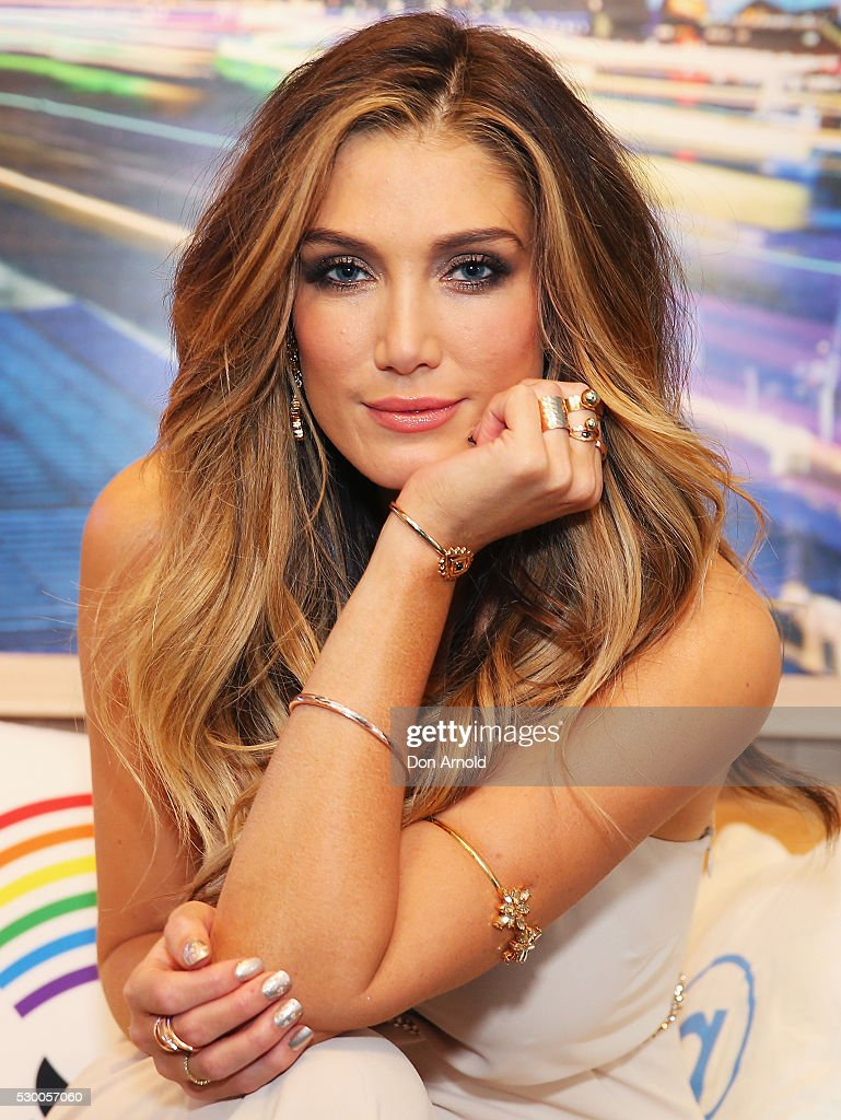 Delta Goodrem Fan Party At Twitter HQ
