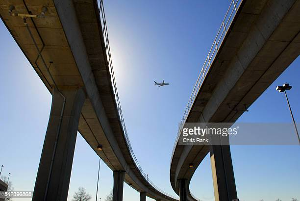 A Delta jet takes off over HartsfieldJackson Atlanta International Airport