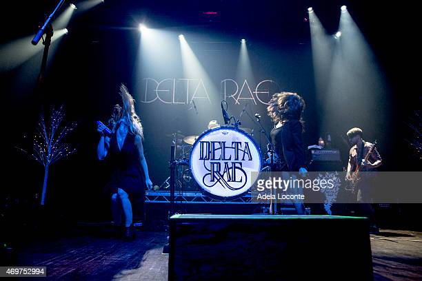 Delta Rae performs at Webster Hall on April 14 2015 in New York City