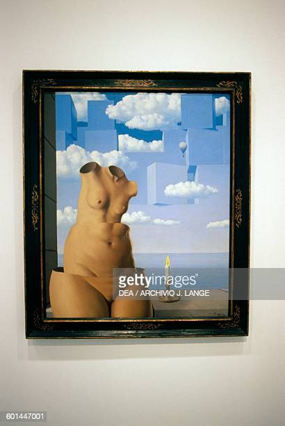 Delusions of Grandeur II by Rene Magritte oil on canvas Belgium 20th century Washington Hirshhorn Museum And Sculpture Garden Smithsonian Institution