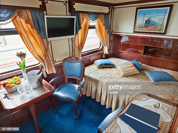 Deluxe cabin on the train