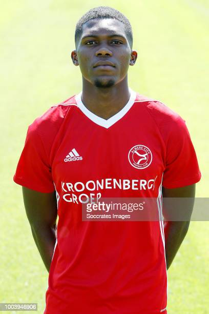 Delvechio Blackson of Almere City during the Photocall Almere City at the Yanmar Stadium on July 16 2018 in Almere Netherlands