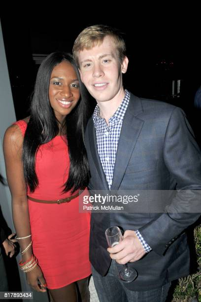 Delvina Smith and Benjamin Watson attend ASSOCIATION to BENEFIT CHILDREN Junior Committee Fundraiser at Gansevoort Hotel on September 14 2010 in New...