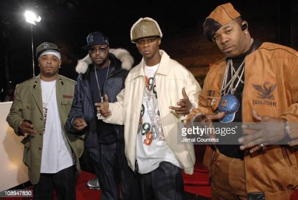 Dem Francize Boyz during 2006 BET Hip-Hop Awards - Black Carpet at Fox Theatre in Atlanta, Georgia, United States.