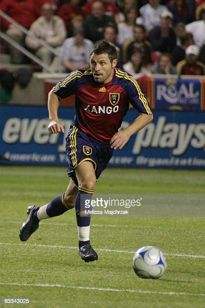 Dema Kovalenko of Real Salt Lake in action during the game against FC Dallas during the Major League Soccer match between FC Dallas and Real Salt...