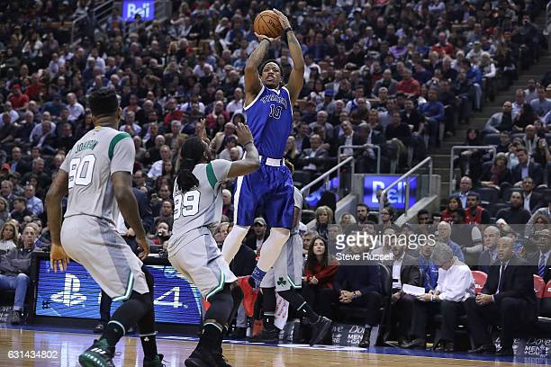 DeMar DeRozan goes up against Boston Celtics forward Jae Crowder . DeMar DeRozan scored 41 points and had 13 rebounds as the Toronto Raptors wearing...