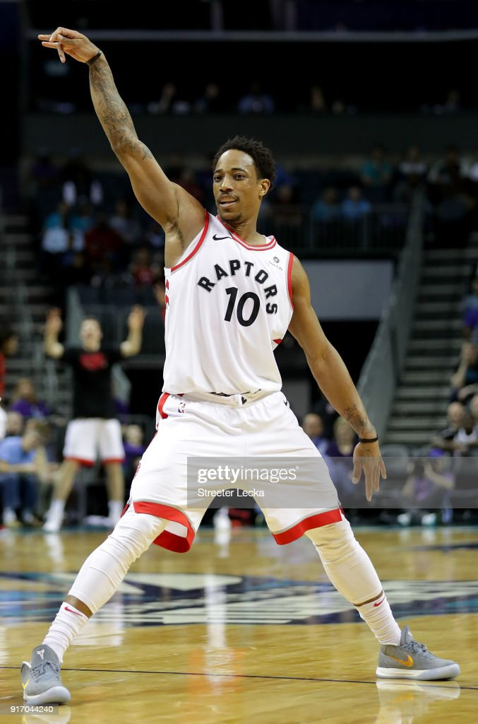 Toronto Raptors v Charlotte Hornets : News Photo