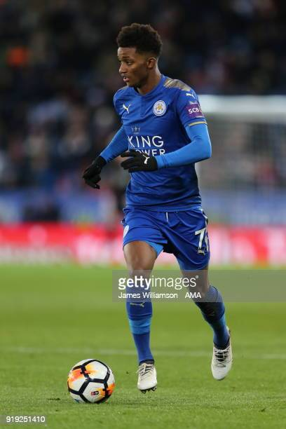 Demarai Gray of Leicester City during the Emirates FA Cup Fifth Round match between Leicester City and Sheffield United at The King Power Stadium on...