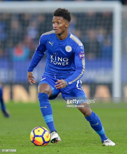 Demarai Gray of Leicester City during the Premier League match between Leicester City and Swansea City at The King Power Stadium on February 3 2018...