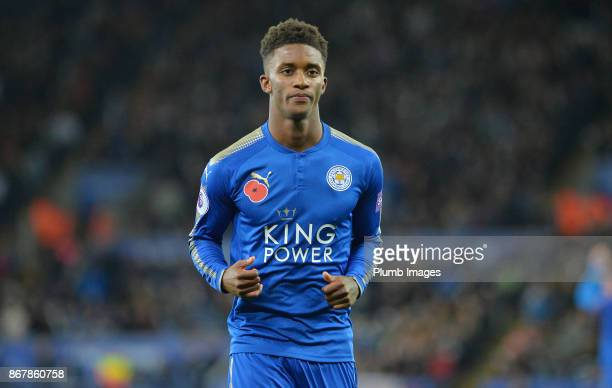 Demarai Gray of Leicester City during the Premier League match between between Leicester City and Everton at King Power Stadium on October 29th 2017...