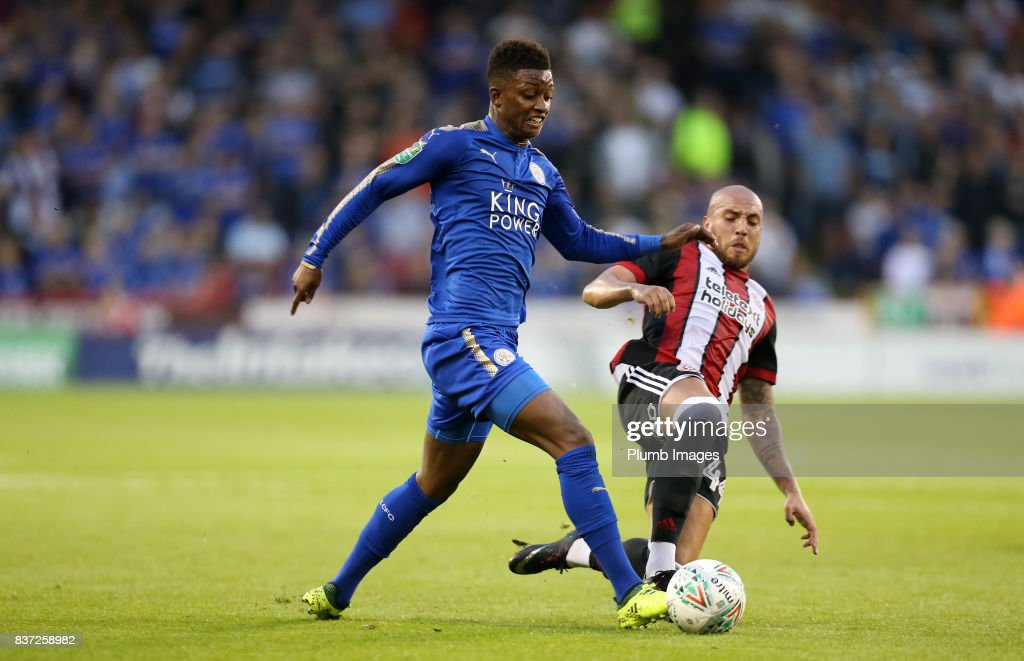 Sheffield United v Leicester City - Carabao Cup Second Round : News Photo