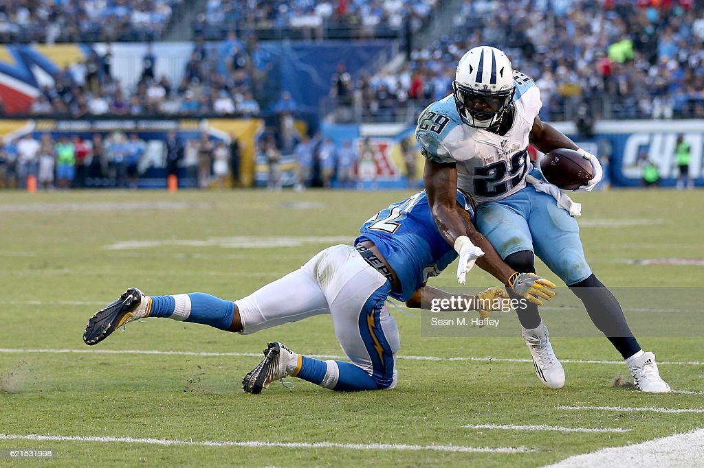 Tennessee Titans v San Diego Chargers : News Photo