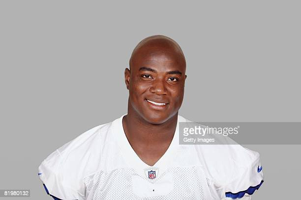 DeMarcus Ware of the Dallas Cowboys poses for his 2008 NFL headshot at photo day in Irving Texas