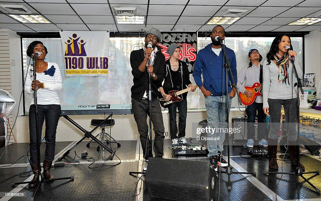 DeMaris Tribbett, gospel music singer Tye Tribbett, Jeremy Morgan