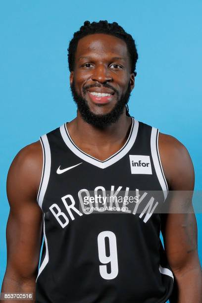 DeMarre Carroll of the Brooklyn Nets poses for a head shot during Media Day on September 25 2017 at the HSS Training Center in Brooklyn New York NOTE...