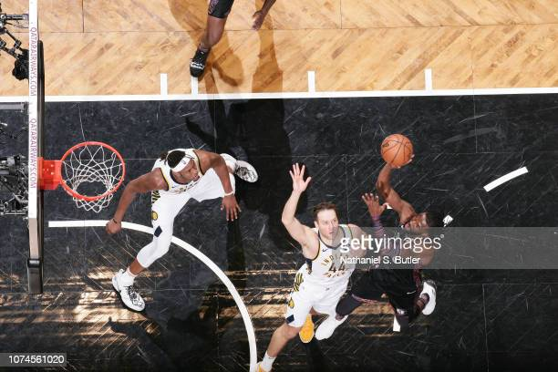 DeMarre Carroll of the Brooklyn Nets shoots the ball against the Indiana Pacers on December 21 2018 at Barclays Center in Brooklyn New York NOTE TO...