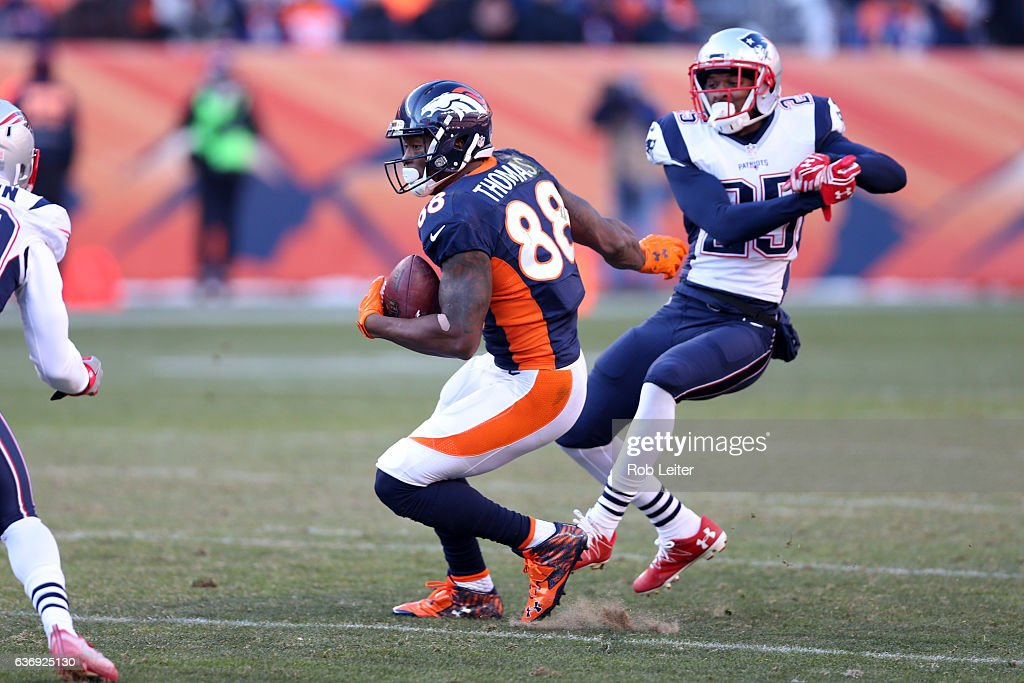 New England Patriots v Denver Broncos : News Photo