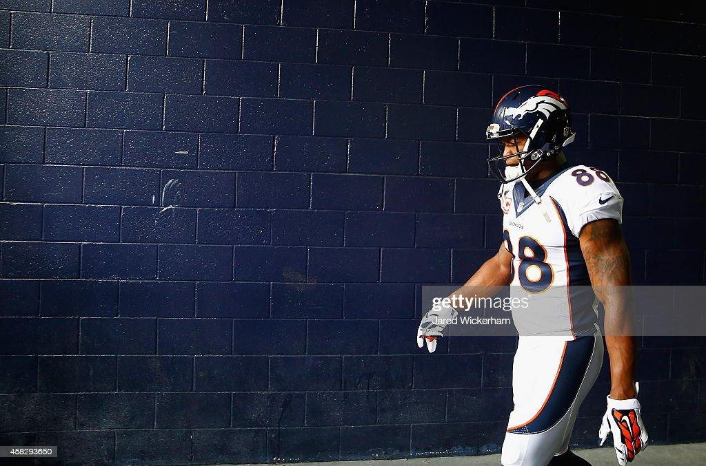 Denver Broncos v New England Patriots : News Photo