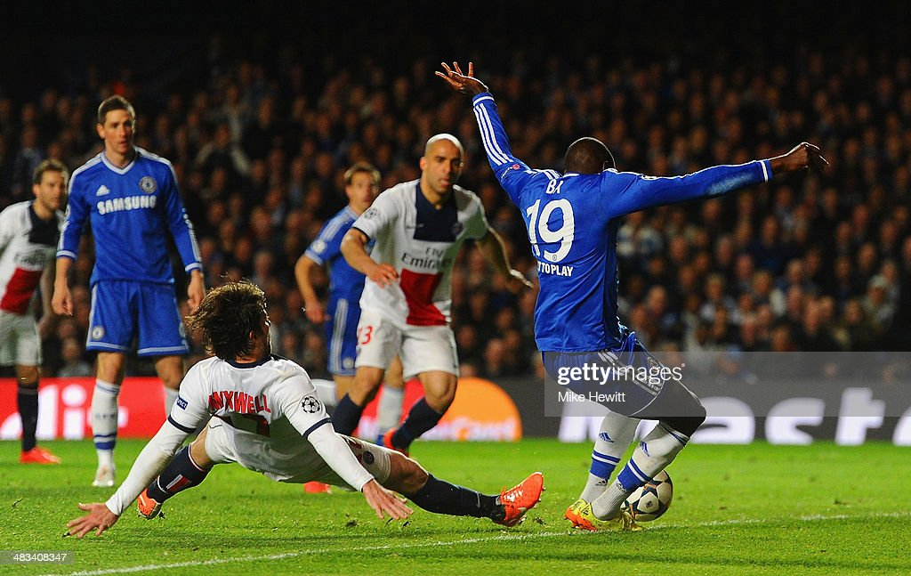 Chelsea v Paris Saint-Germain FC - UEFA Champions League Quarter Final : ニュース写真