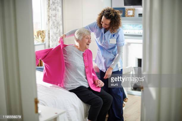 dementia care - care home stock pictures, royalty-free photos & images