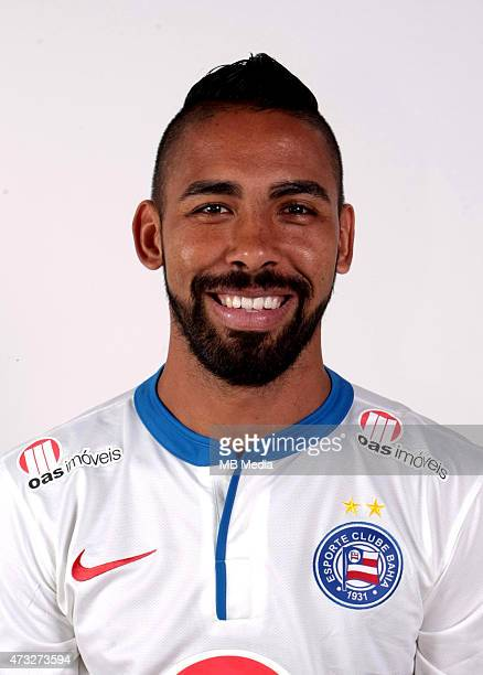 Demerson of Esporte Clube Bahia poses during a portrait session August 14 2014 in SalvadorBrazil