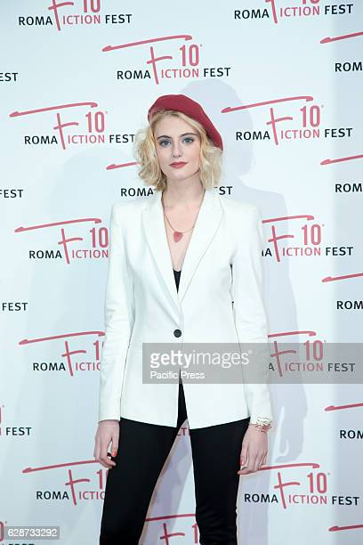 """Demetra Bellina during the Second Day for Roma Fiction Fest 10 The Space Cinema Moderno on the Red Carpet of the movie """"From father to daughter,"""" a..."""