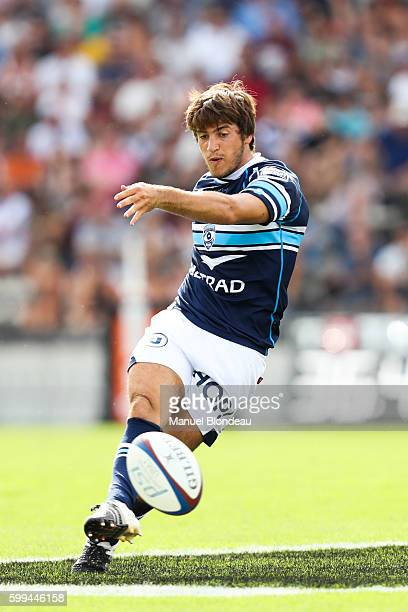 Demetri Catrakilis of Montpellier during the French Top 14 match between Union BordeauxBegles and Montpellier at Stade ChabanDelmas on September 4...