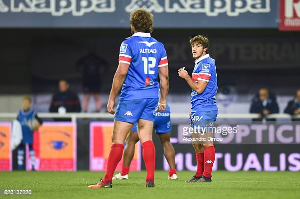 Demetri Catrakilis of Montpellier during the Top 14 match between Montpellier and Lyon on November 12 2016 in Montpellier France