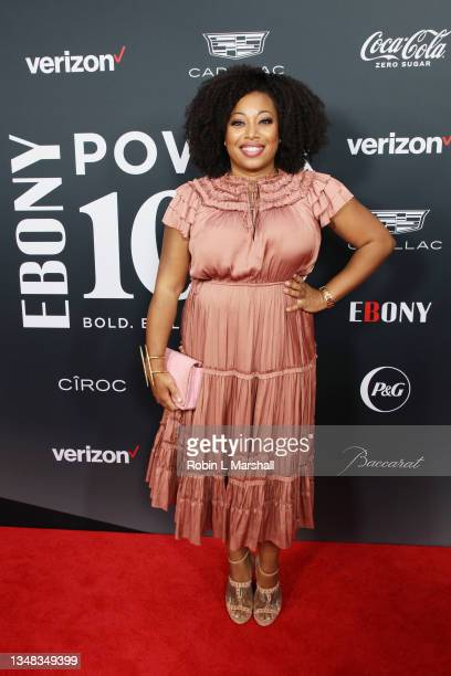Demetria Lucas attends the 2021 Ebony Power 100 Presented By Verizon at The Beverly Hilton on October 23, 2021 in Beverly Hills, California.